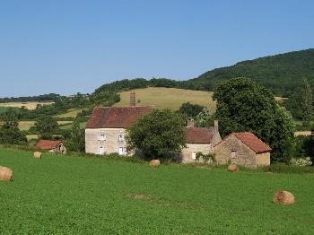 Grand gîte de groupe Bourgogne pour 22-45 pers. av